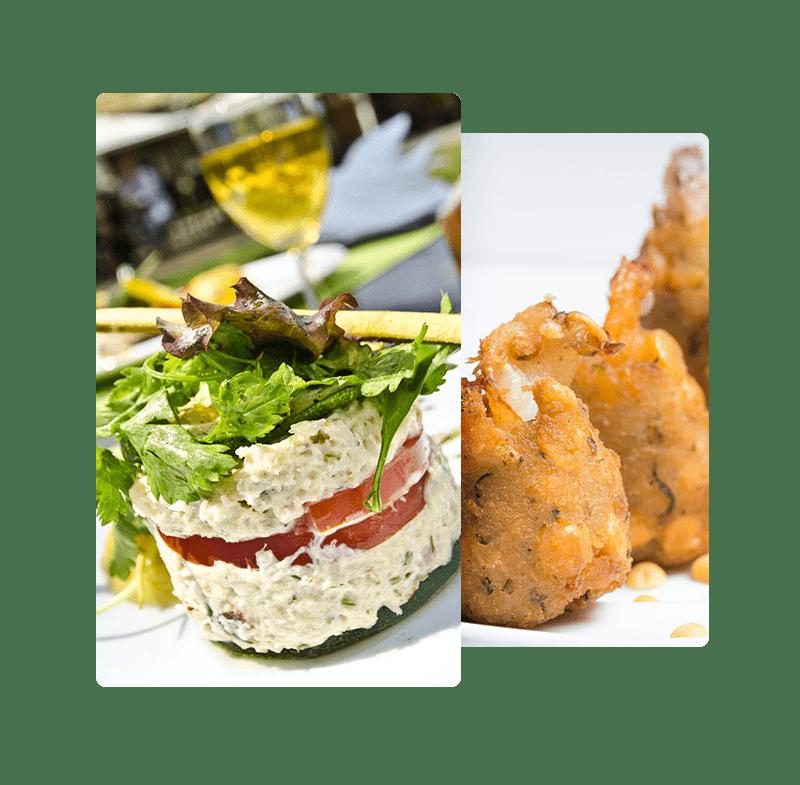 service restauration autour d'une cuisine typique et traditionnelle mauricienne